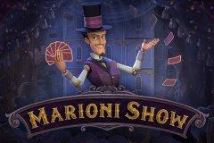logo marioni show playson slot game