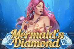 logo mermaids diamond playn go slot game