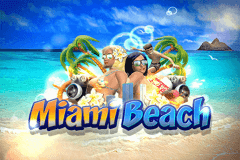 logo miami beach wazdan slot game