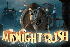 logo midnight rush stake logic slot game
