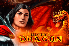 logo mighty dragon bally wulff slot game