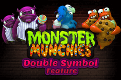 logo monster munchies booming games slot game