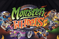 logo monster wheels microgaming slot game