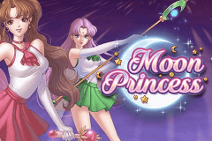 logo moon princess playn go slot game
