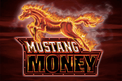 logo mustang money ainsworth slot game