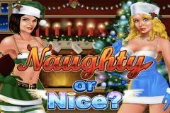 logo naughty or nice rtg slot game