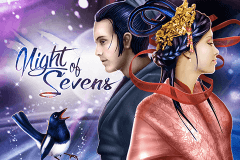 logo night of sevens genesis slot game