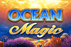 logo ocean magic igt slot game