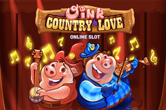 logo oink country love microgaming slot game