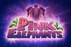 logo pink elephants thunderkick slot game