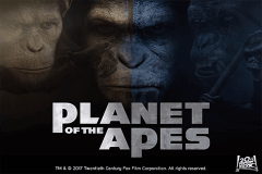 logo planet of the apes netent slot game
