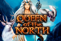 logo queen of the north bally wulff slot game