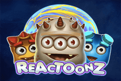 logo reactoonz playn go slot game
