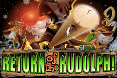logo return of the rudolph rtg slot game