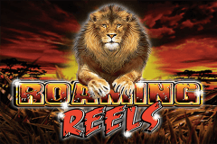 logo roaming reels ainsworth slot game