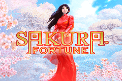 logo sakura fortune quickspin slot game