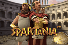 logo spartania stake logic slot game