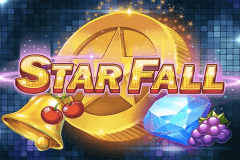 logo star fall push gaming slot game