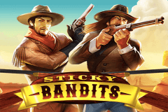 logo sticky bandits quickspin slot game