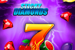 logo sticky diamonds bally wulff slot game