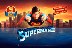 logo superman ii playtech slot game