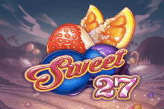 logo sweet 27 playn go slot game
