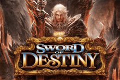 logo sword of destiny bally slot game