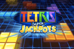 logo tetris super jackpots wms slot game