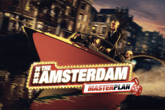logo the amsterdam masterplan stake logic slot game