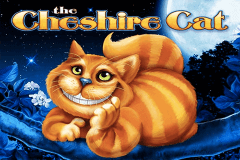 logo the cheshire cat wms slot game