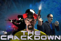 logo the crackdown booming games slot game