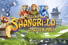 logo the legend of shangrila netent slot game