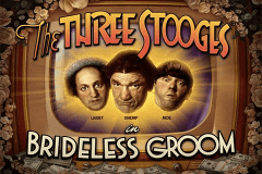 logo the three stooges brideless groom rtg slot game