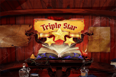 logo triple star wazdan slot game