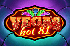 logo vegas hot 81 wazdan slot game
