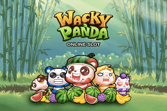 logo wacky panda microgaming slot game