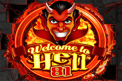 logo welcome to hell 81 wazdan slot game