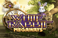 logo white rabbit big time slot game