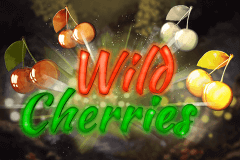 logo wild cherries booming games slot game