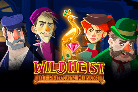 WILD HEIST AT PEACOCK MANOR THUNDERKICK SLOT GAME
