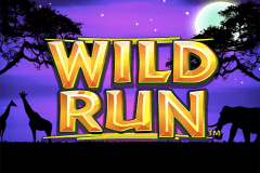 logo wild run nextgen gaming slot game