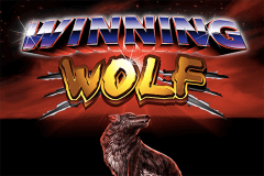 logo winning wolf ainsworth slot game