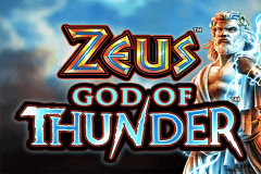 logo zeus god of thunder wms slot game