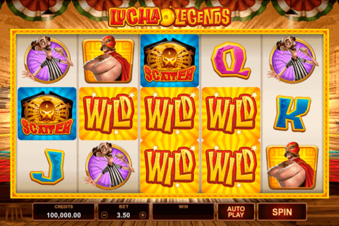 LUCHA LEGENDS MICROGAMING CASINO SLOTS