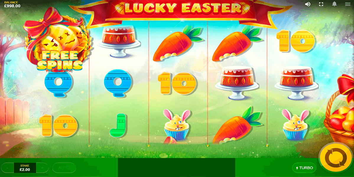 lucky easter red tiger casino slots