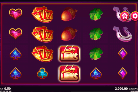 LUCKY LINKS JUST FOR THE WIN CASINO SLOTS