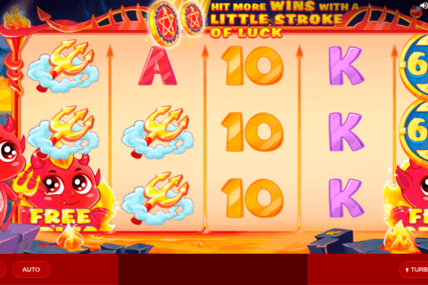 LUCKY LITTLE DEVIL RED TIGER CASINO SLOTS