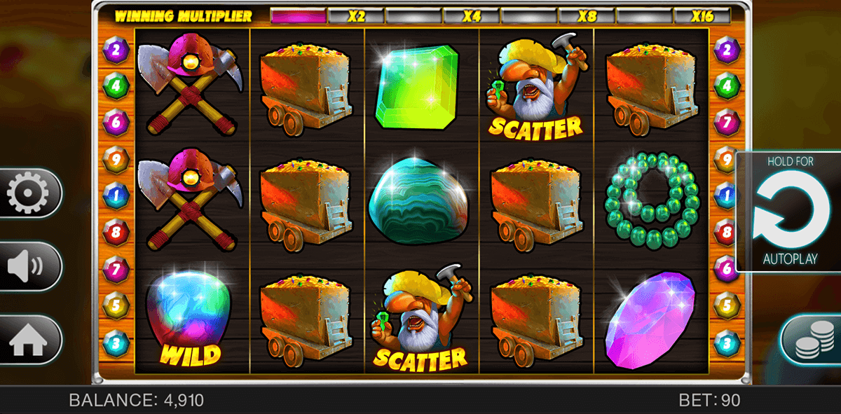 Lucky Miners Slot - Try it Online for Free or Real Money