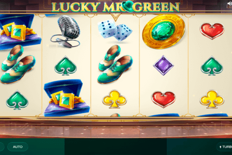 LUCKY MR GREEN RED TIGER CASINO SLOTS