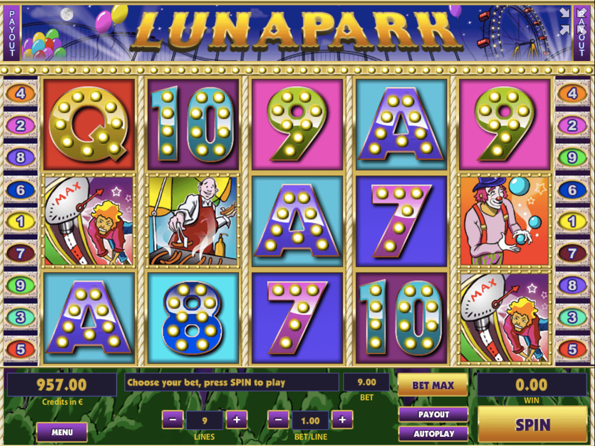 Luna Park Slots Review & Free Instant Play Casino Game